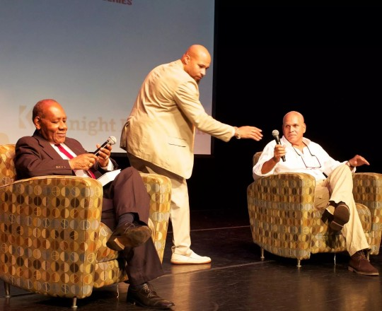 Mario Delatour Q&A at the Little Haiti Cultural Center in Miami