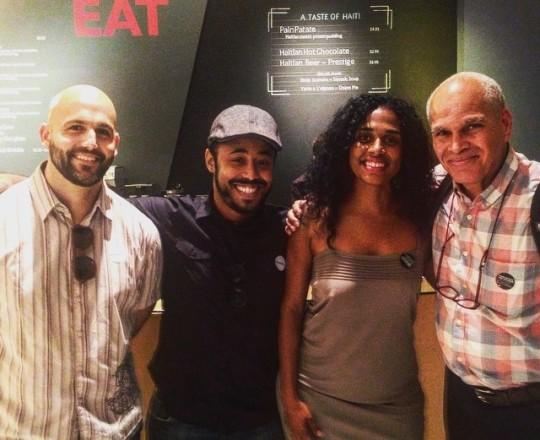 Jonathan David Kane, Jason Fitzroy Jeffers, Rachelle Salnave, and Mario Delatour - Ayiti Images