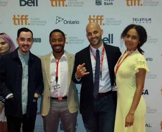 The Papa Machete Team at Toronto Film Festival